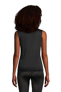 Women's Silk Interlock Tank, Back
