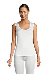 Women's Silk Interlock Tank, Front