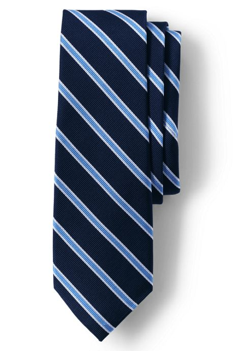 Men's Small Bar Stripe Tie