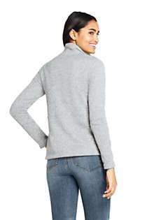 Women's Sweater Fleece Jacket, Back