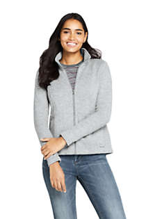 Women's Sweater Fleece Jacket, Front