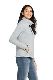 Women's Sweater Fleece Jacket, alternative image