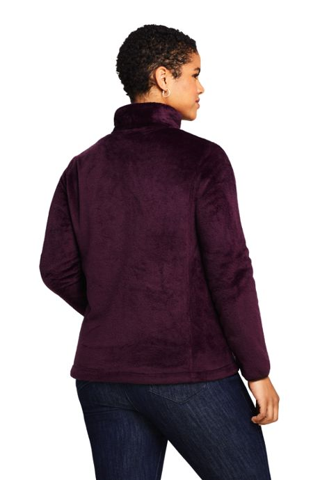 Women's Plus Size Softest Fleece Jacket