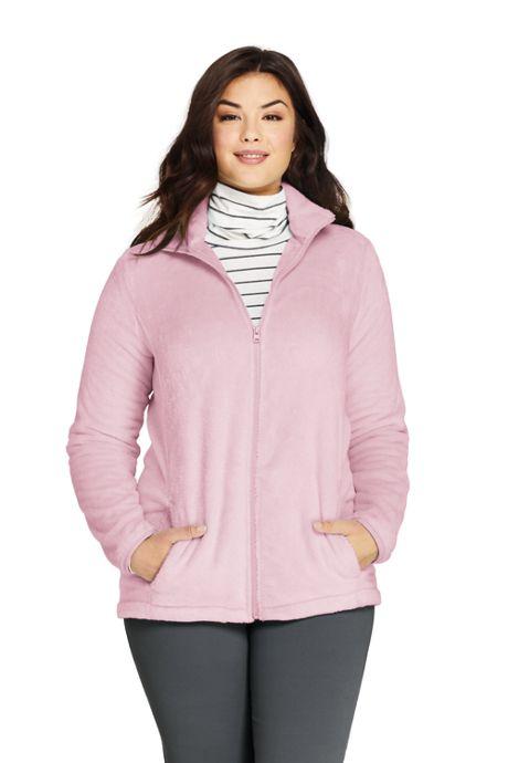Women's Plus Size Softest Fleece Jacket