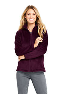 Women's Petite Softest Fleece Jacket, Front
