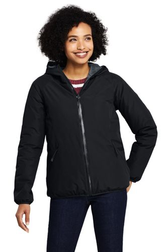 Women's Reversible Thermoplume Rain Jacket