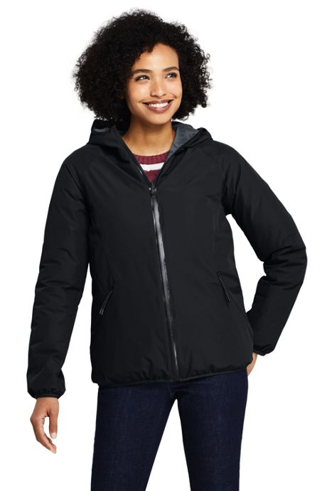 Women's Reversible Insulated Rain Jacket