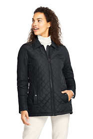 Women's Tall Insulated Quilted Barn Jacket