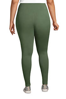 Women's Plus Size Active Seamless Leggings, Back