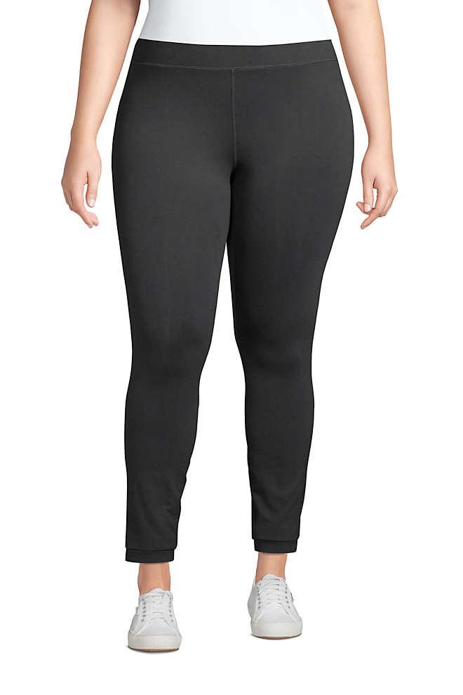 Women's Plus Size Active Seamless Leggings, Front