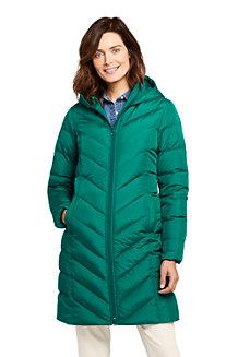 Manteau en Duvet à Capuche, Femme