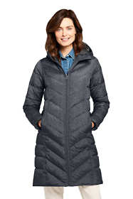 Women's Tall Long Down Winter Coat