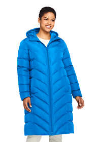 Women's Plus Size Long Down Winter Coat