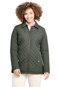 Women's Plus Size Insulated Quilted Barn Jacket