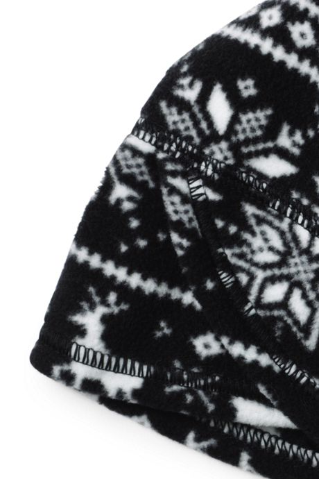 Women's Fleece Winter Beanie Hat - Print