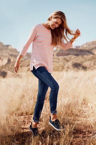 Women's Three-Quarter Sleeve Supima Cotton Tunic