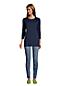 Tunique Manches 3/4 en Coton Supima, Femme Stature Standard