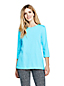 Women's Three-Quarter Sleeve Supima Cotton Tunic