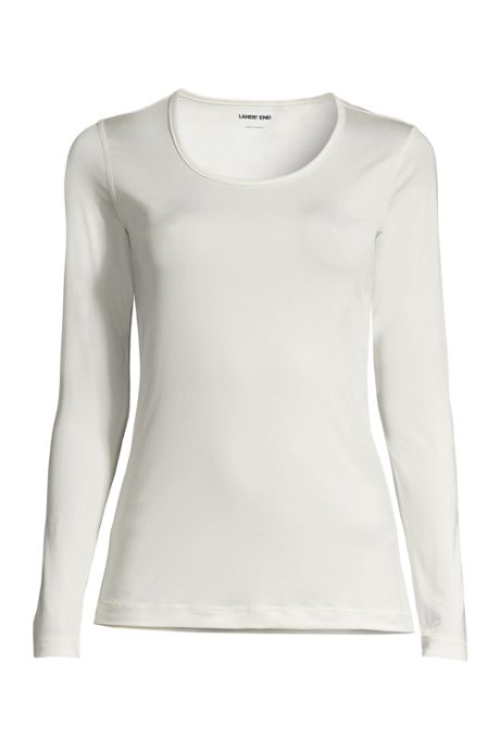 Women's Petite Thermaskin Heat Scoopneck