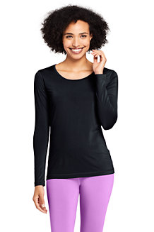 Women's Stretch Thermaskin Scoop Neck Thermal Top