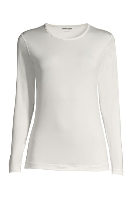 Women's Plus Size Thermaskin Heat Crewneck