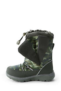 Kids Snow Flurry Insulated Winter Boots, alternative image