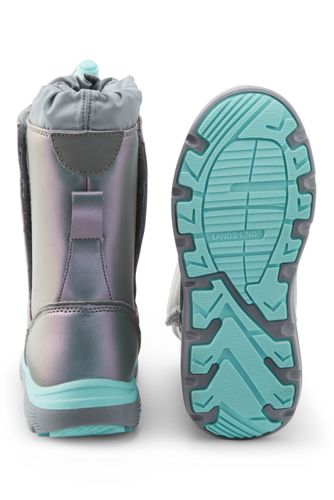 Kids Snow Flurry Insulated Winter Boots