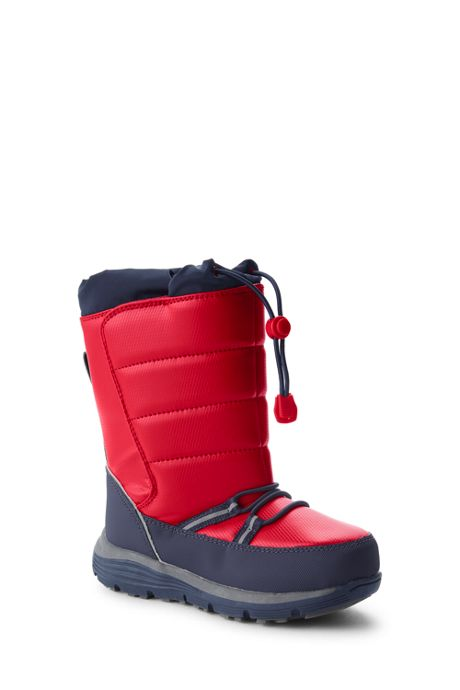 School Uniform Kids Snow Flurry Insulated Winter Boots