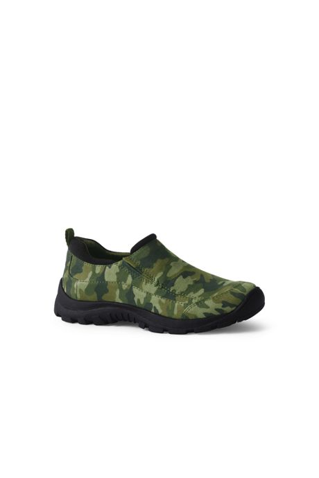 Kids All Weather Printed Slip On Moc Shoes