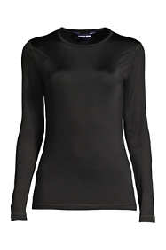 Women's Petite Natural Thermaskin Crewneck