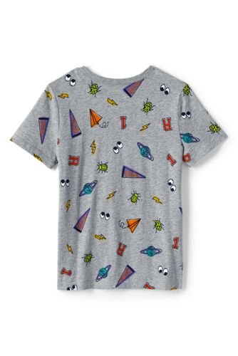 Boys Husky Pattern Tee Shirt