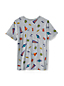 Boys' Short Sleeve Pattern T-shirt