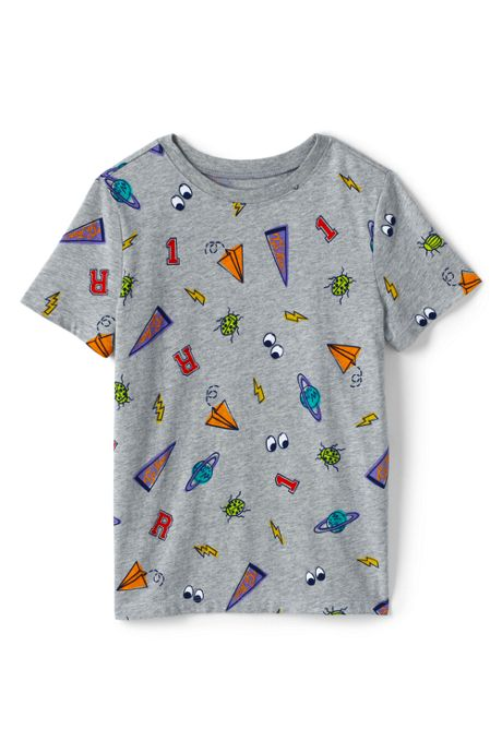 Little Boys Pattern Tee Shirt