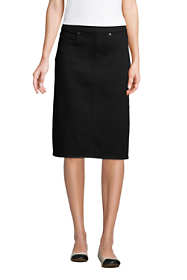Women's Denim Pull On Pencil Skirt