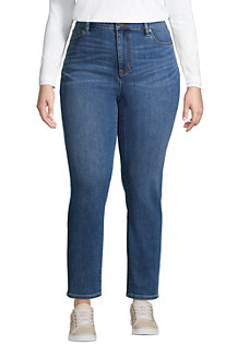 Women's High Waisted Slim Ankle Jeans