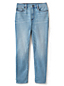 Jean Water Conserve Slim Stretch 7/8 Taille Haute, Femme Grande Taille