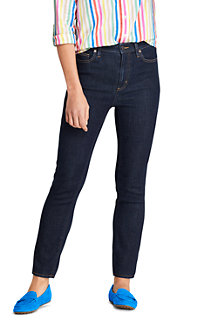 Jean Water Conserve Slim Stretch 7/8 Taille Haute, Femme