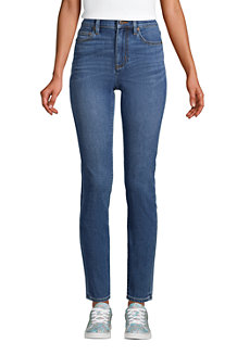 Slim Fit Öko Jeans High Waist für Damen