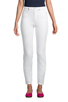 Slim Fit Öko Jeans High Waist für Damen