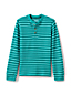 Toddler Boys' Stripe Thermal Henley Shirt