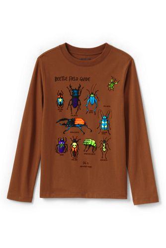 T-Shirt Graphique à Manches Longues, Tout Petit Garçon