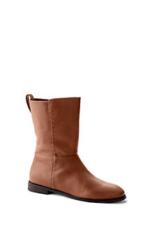 Women's Leather Slouch Boots