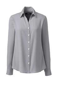 Women's Long Sleeve Crepe Blouse