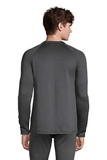 Men's Tall Crewneck Heavyweight Thermaskin Long Underwear, Back