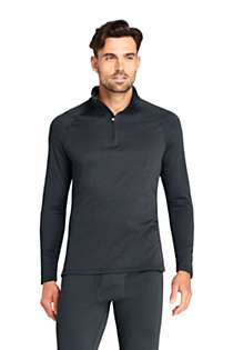 Men's Tall Quarter Zip Heavyweight Thermaskin Long Underwear, Front