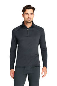 Men's Tall Quarter Zip Heavyweight Thermaskin Long Underwear