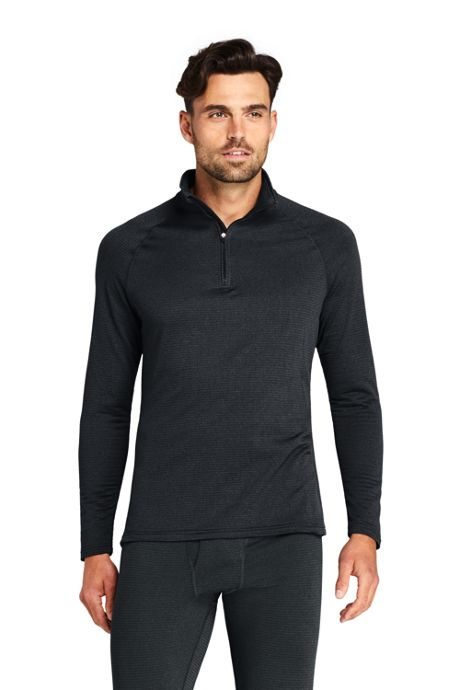 Men's Quarter Zip Heavyweight Thermaskin Long Underwear