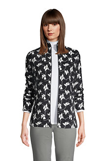 Gemusterte Fleece-Jacke für Damen