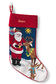 Personalized Christmas Stockings Lands End