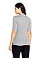 Haut en Jersey Stretch Brossé, Femme Stature Standard